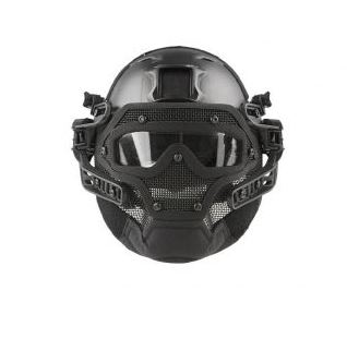 Softair Maske als Vollhelm