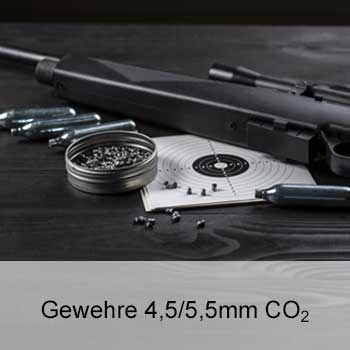 Zu unseren CO2 Gewehren 4,5/5,5mm