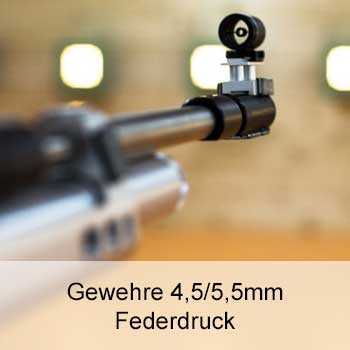 Zu unseren Federdruck Gewehren 4,5/5,5mm