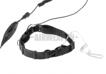 SWAT Tactical Throat Mic Set for Motorola Talkabout - Emerson