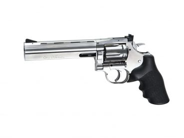 "Dan Wesson 715 - 6""Revolver, silver 4,5mm BB"