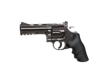 "Dan Wesson 715 - 4"" Revolver, steel grey  4,5mm BB"