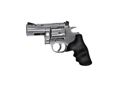 "Dan Wesson 715 - 2,5"" Revolver, silver 4,5mm BB"