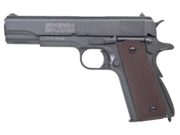Swiss Arms P1911 Match CO2 BB -F- 4,5mm BB