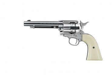 Colt Single Action Army 45 nickel - Diabolo Version