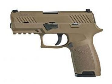 Sig Sauer P320 compact 9mm P.A.K. -Dark Earth