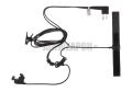 Bone Conduction Headset Motorola 2-Pin Connector Z-Tactical