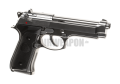 Elite M92 Full Metal GBB - Silver | B&W